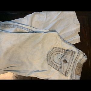 """True Religion """"Becky Super T's"""" bootcut jeans"""